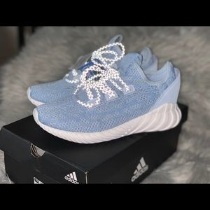 Adidas tubular doom sock shoes Sz 6 woman